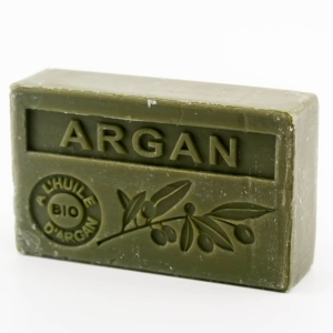 Savon de Marseille parfumé argan enrichi à l'huile d'Argan bio