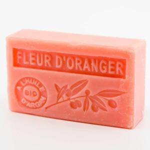 Savon de Marseille parfumé fleur d'oranger enrichi à l'huile d'Argan bio