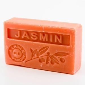 Savon de Marseille parfumé jasmin enrichi à l'huile d'Argan bio