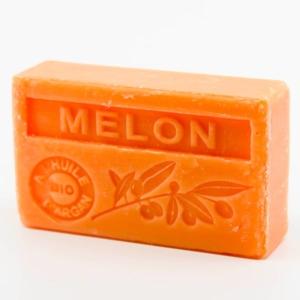 Savon de Marseille parfumé melon enrichi à l'huile d'Argan bio