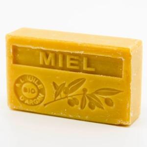 Savon de Marseille parfumé miel enrichi à l'huile d'Argan bio