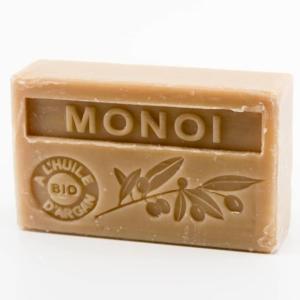 Savon de Marseille parfumé monoï enrichi à l'huile d'Argan bio