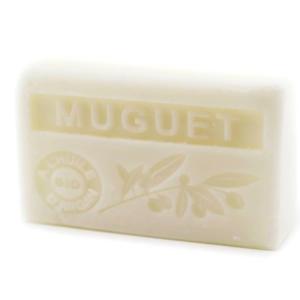 Savon de Marseille parfumé muguet enrichi à l'huile d'Argan bio