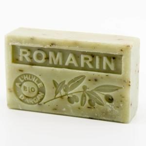 Savon de Marseille parfumé romarin enrichi à l'huile d'Argan bio