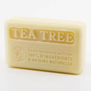 Savon de Marseille à l'Huile Essentielle de Tea Tree