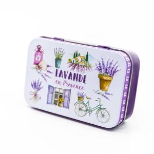 """Boite à savon """"Lavande en Provence"""""""
