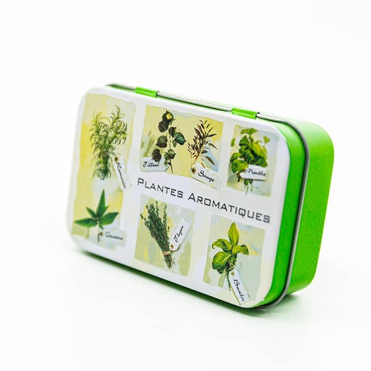 """Boite à savon """"Plantes Aromatiques"""""""